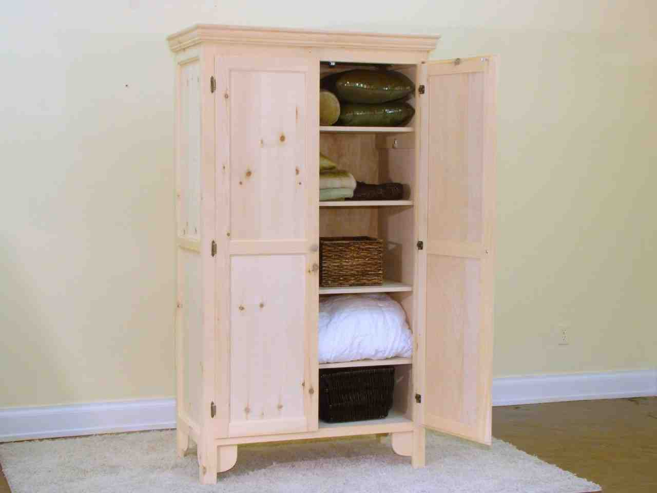 Linen closet cabinet home furniture design for Home cabinet design