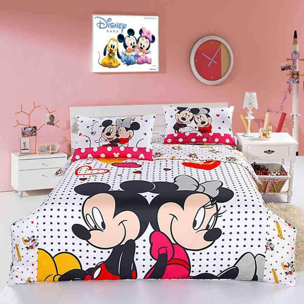 Mickey Mouse Twin Comforter Set Home Furniture Design