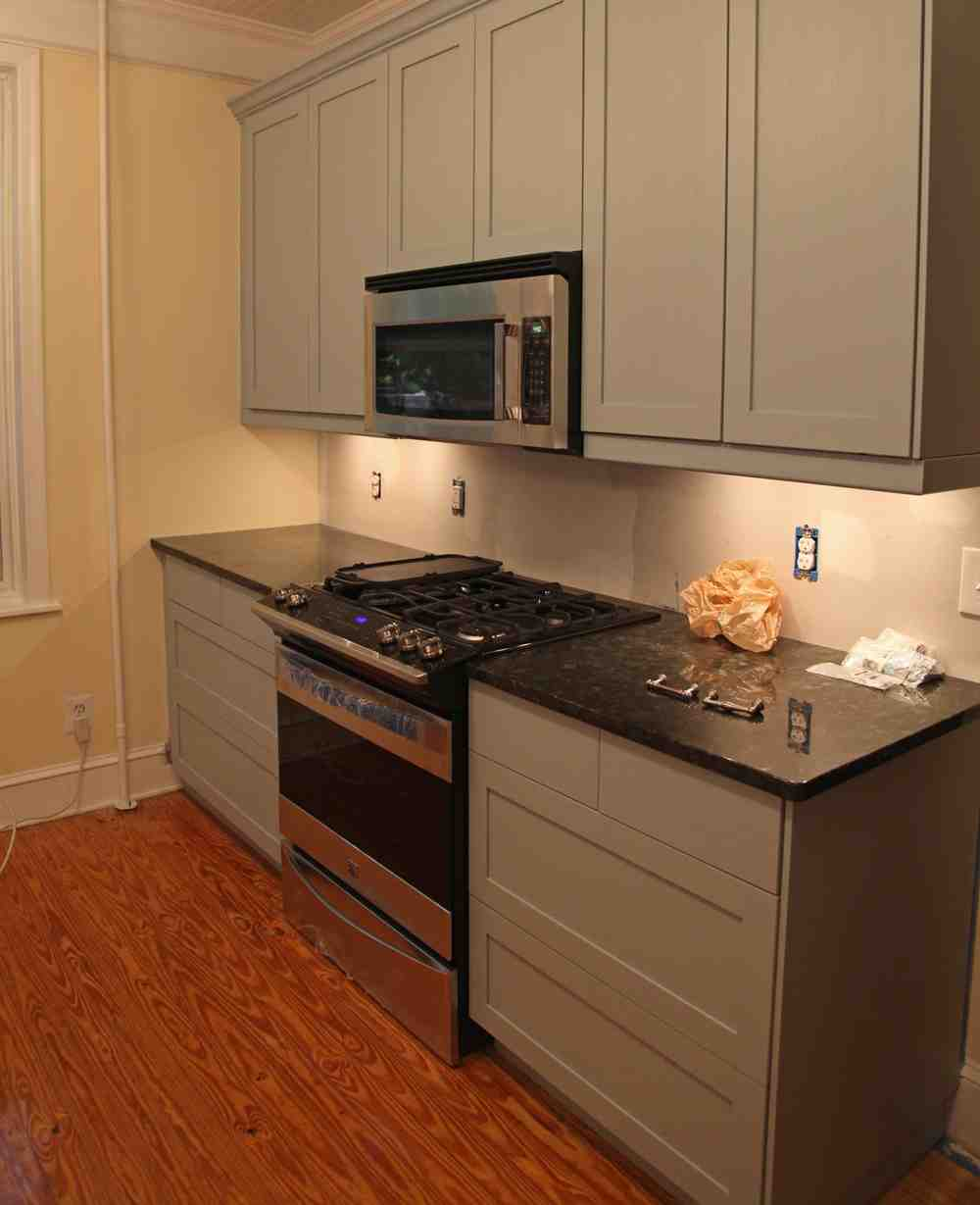 Kitchen Cabinets Inside: Microwave Inside Cabinet