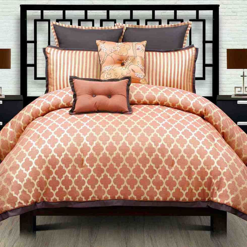Moroccan bedding home interior design for Home designs comforter
