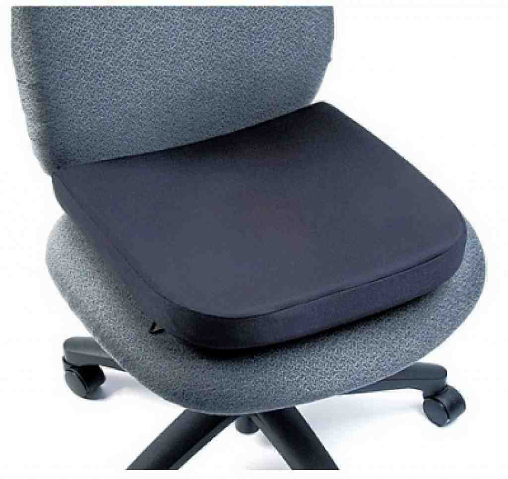 how to make an office chair sit lower