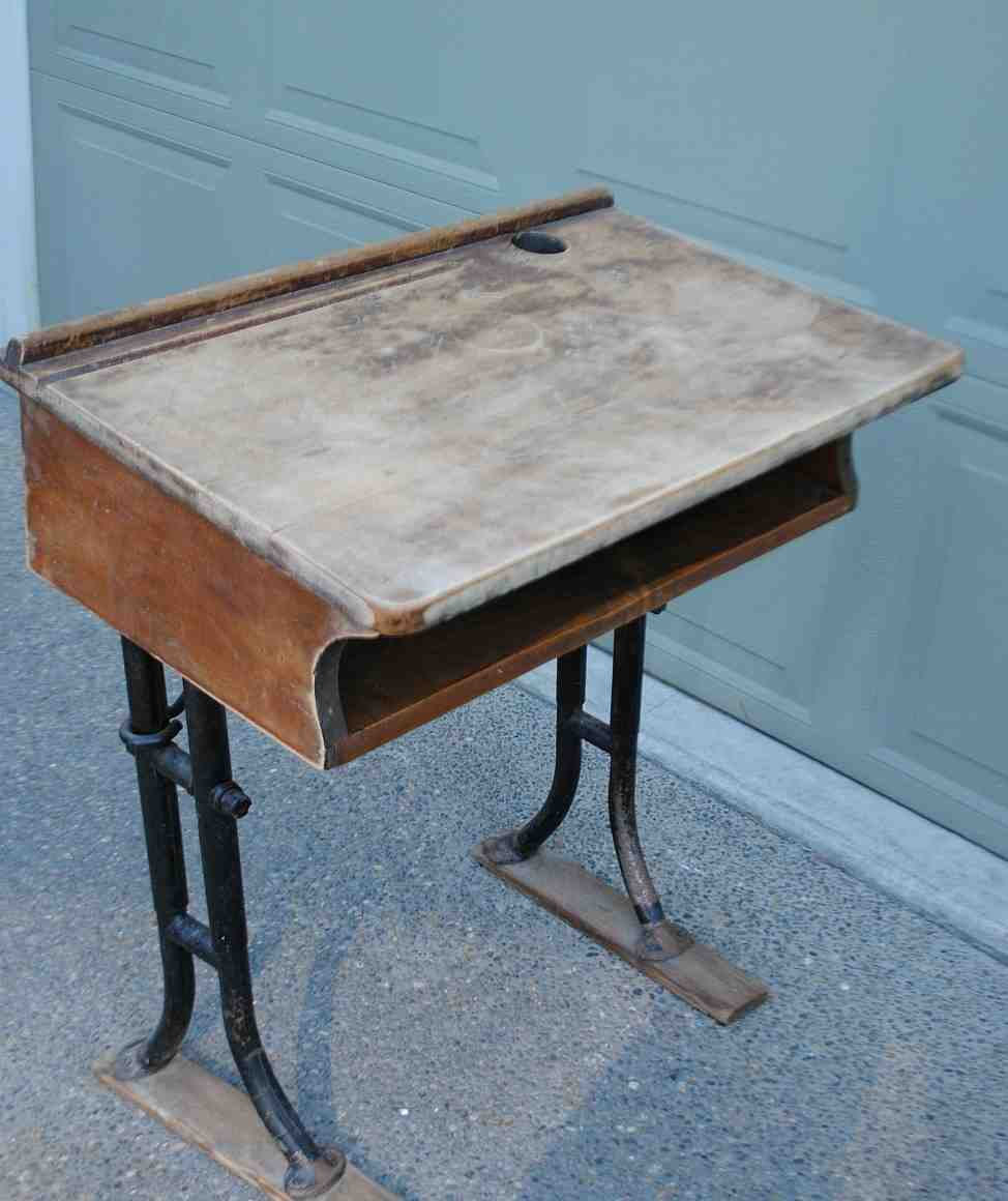Wooden School Desk ~ Old wooden school desks for sale home furniture design