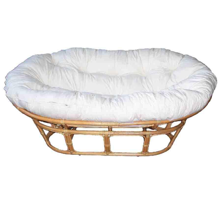 Outdoor double papasan cushion home furniture design for Double papasan chair cushion