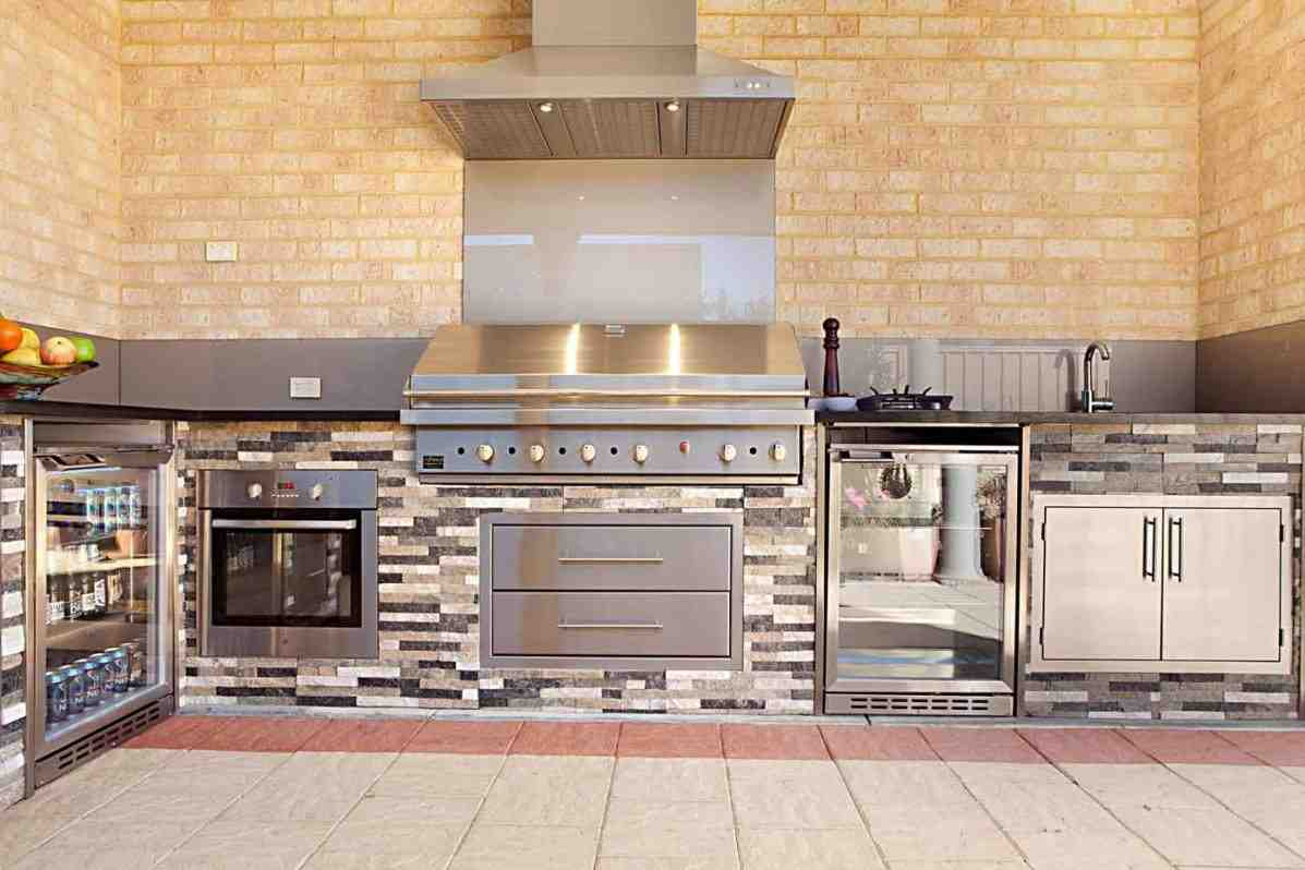 Outdoor kitchen cabinets and more home furniture design for Kitchen designs and more