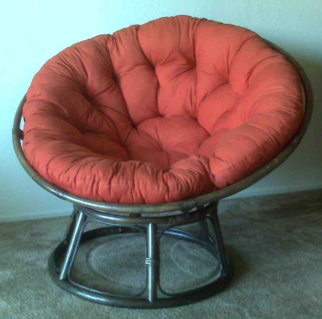 Outdoor papasan cushion home furniture design for Best papasan chair