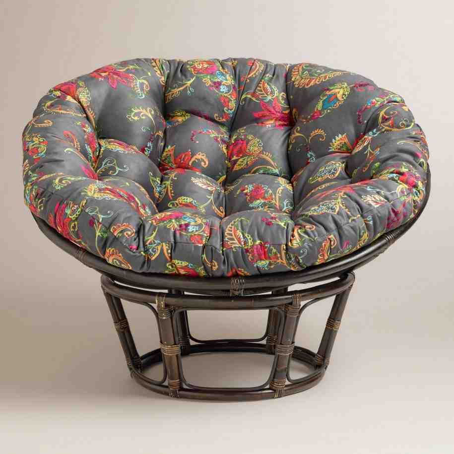 Papasan Chair Frame And Cushion Home Furniture Design