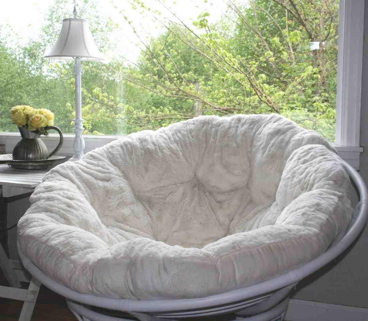 Papasan cushion slipcover home furniture design for Papasan sofa