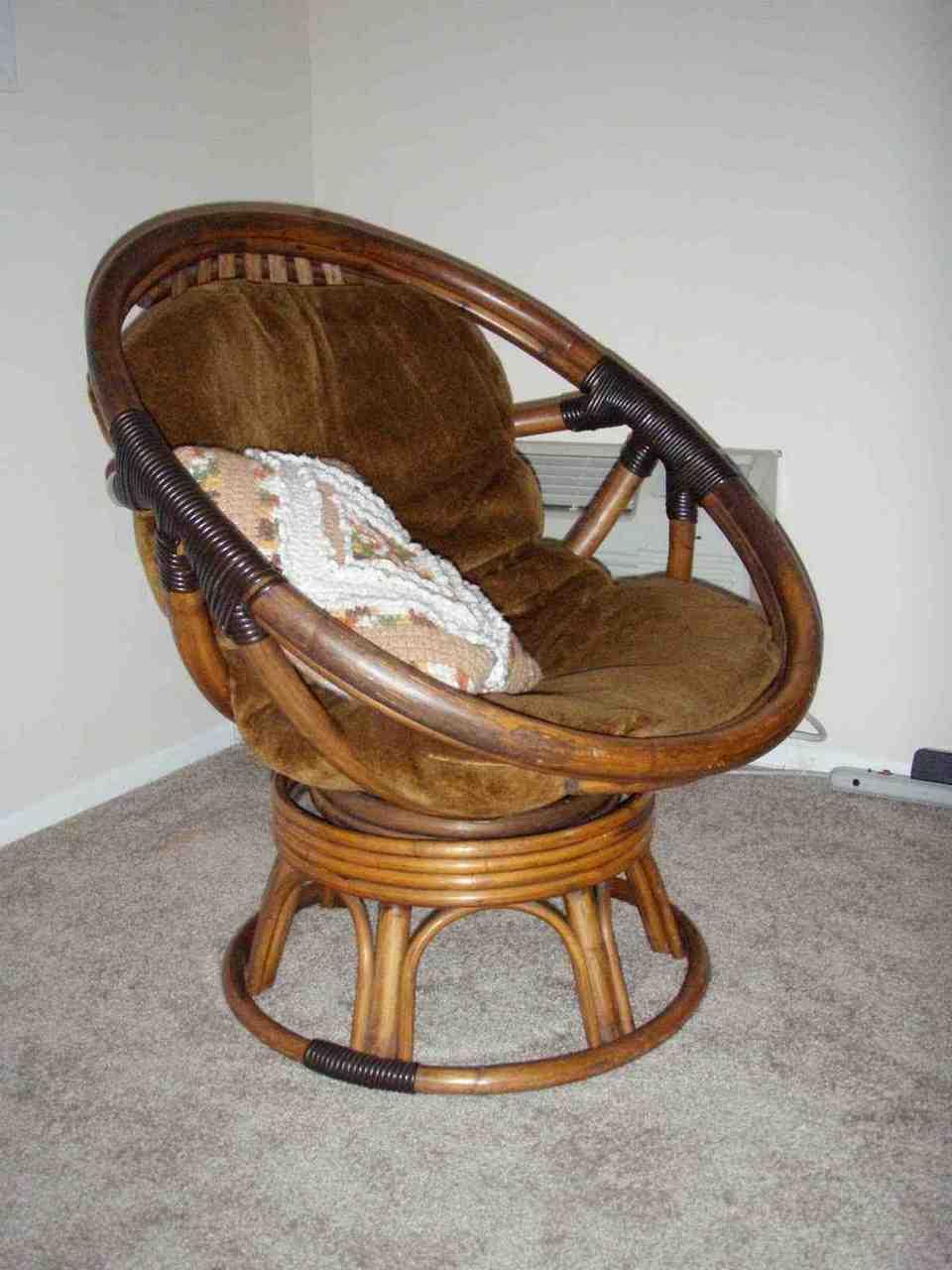 Papasan Rocker Chair Cushion Home Furniture Design