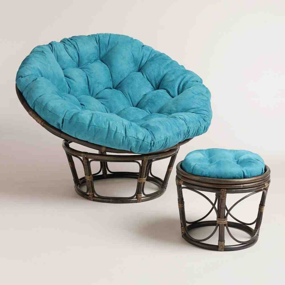 The astounding pic is segment of Papasan Cushion: The Best Comfort ...