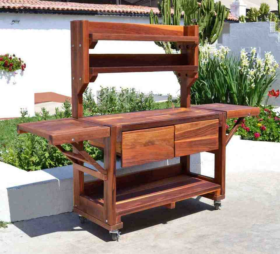Potting Bench With Storage Home Furniture Design