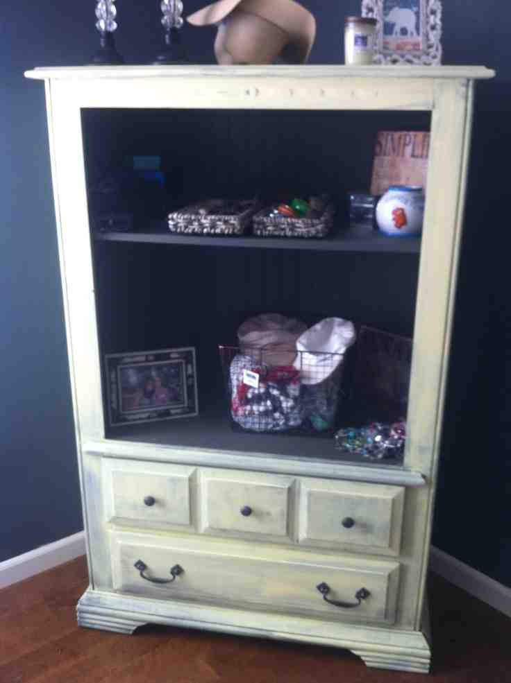 Repurpose tv armoire home furniture design for Armoire tv
