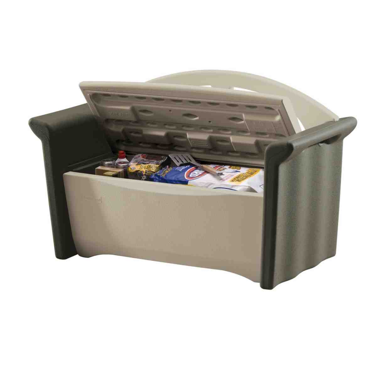 Rubbermaid Patio Storage Bench 3764 Home Furniture Design