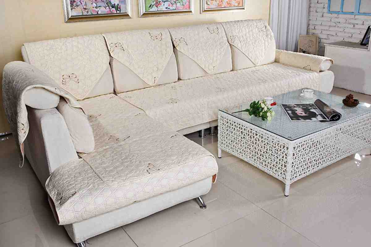 Slipcover for L Shaped Sofa - Home Furniture Design