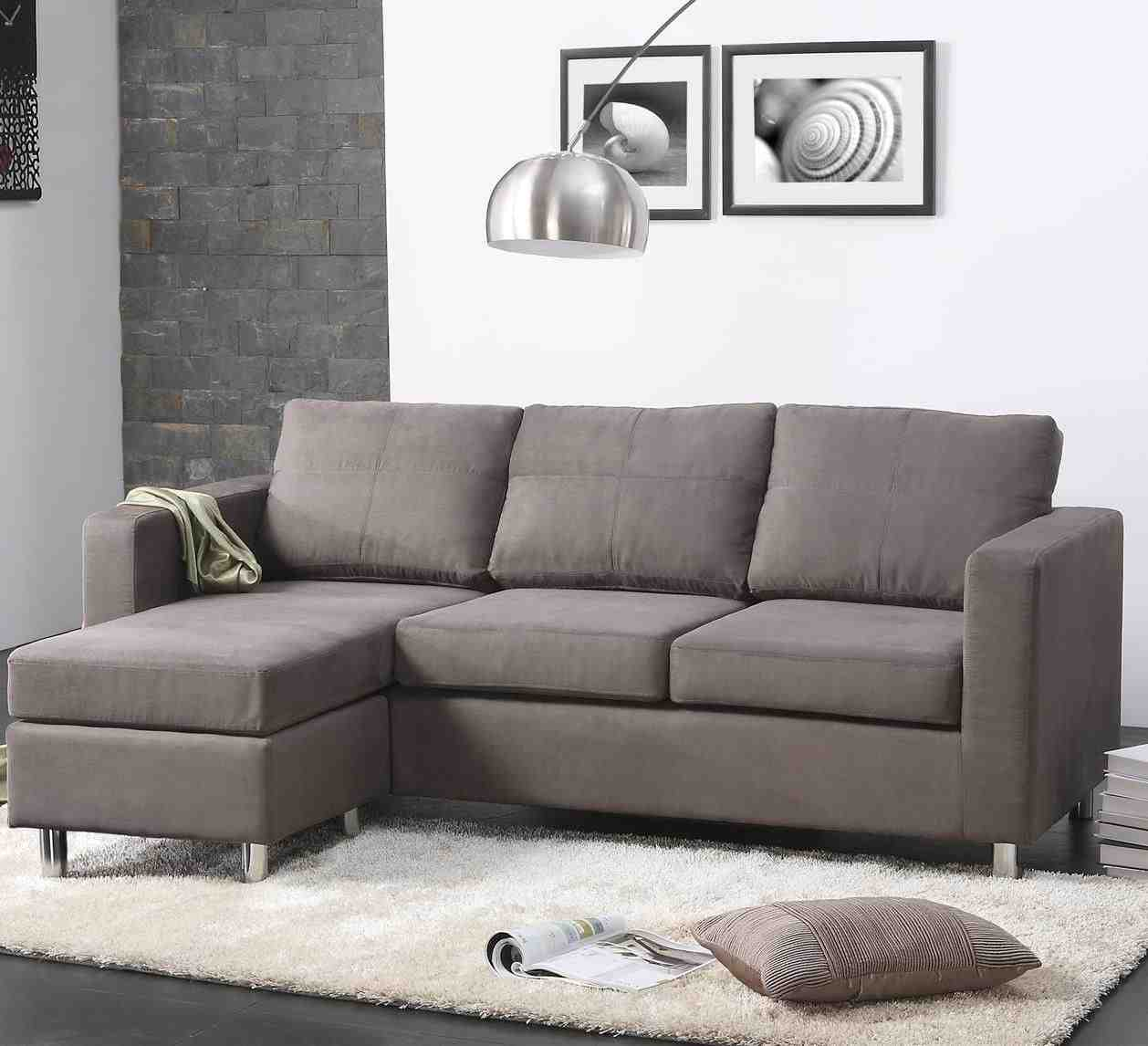 Small L Shaped Sectional Sofa   Home Furniture Design