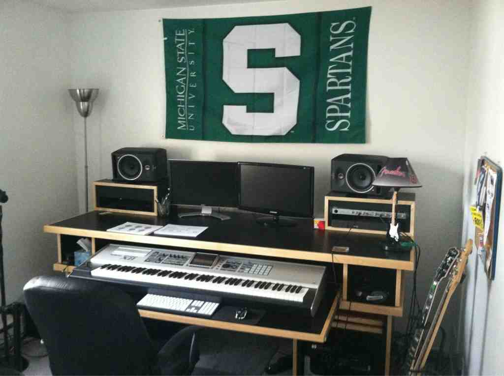 Small Recording Studio Desk Home Furniture Design