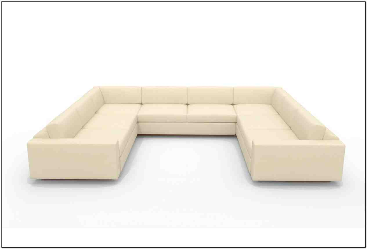 Small u shaped sectional sofa home furniture design for Small sectional sofa
