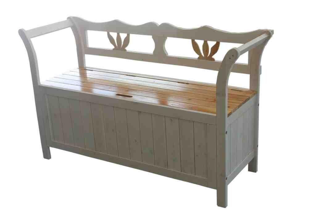 Solid Wood Bench With Storage Home Furniture Design