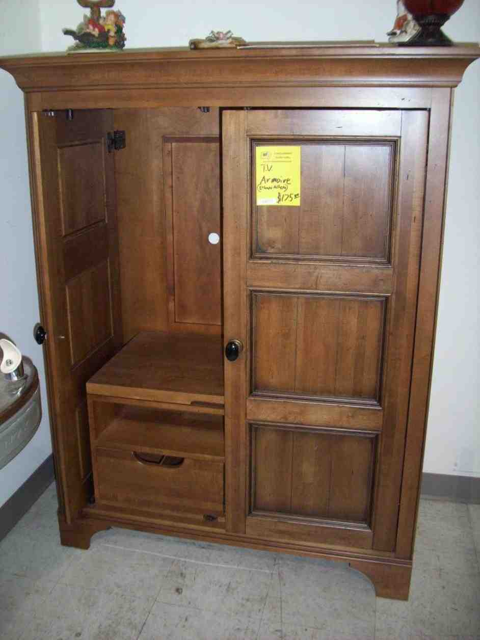 Tv Armoire For Flat Screens Home Furniture Design