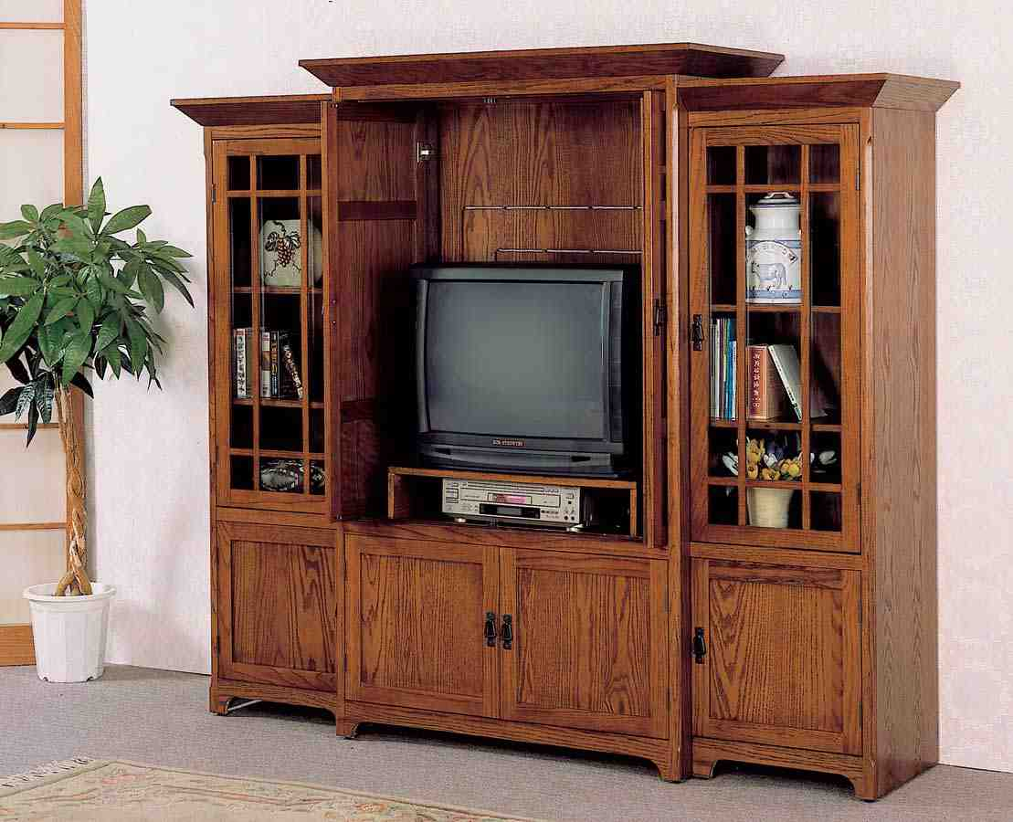 TV Armoire How to Use a to Organize Your Entertainment