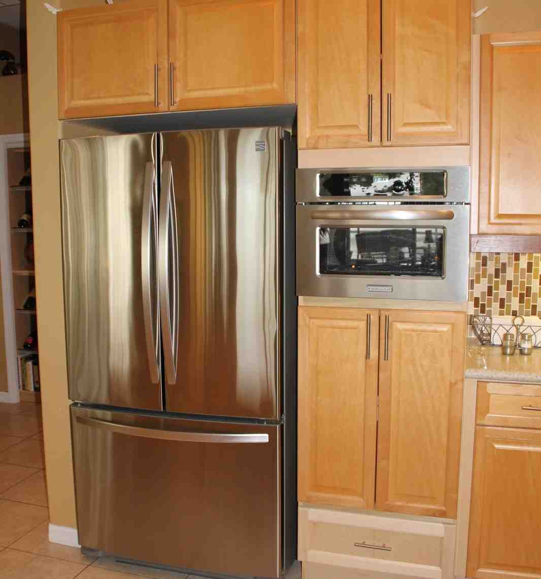 tall microwave cabinet home furniture design. Black Bedroom Furniture Sets. Home Design Ideas