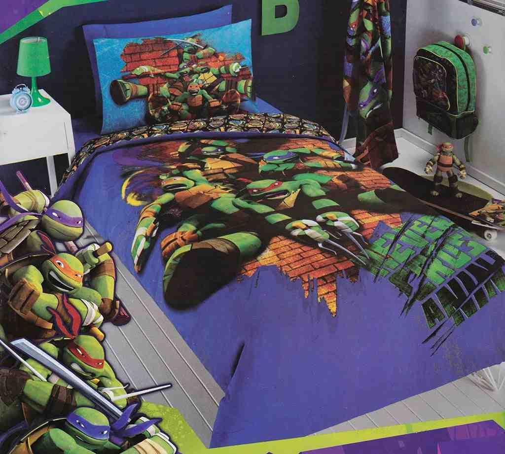 Teenage Mutant Ninja Turtles Twin Comforter Set