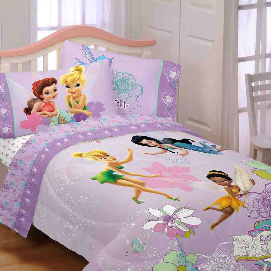 Tinkerbell Comforter Set Twin Home Furniture Design