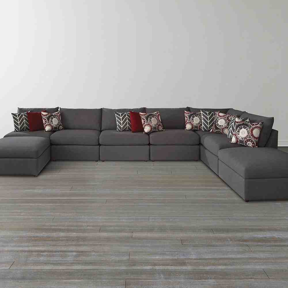 U Shape Sofa Home Furniture Design