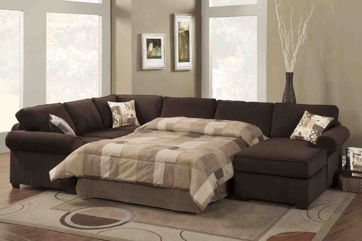 U Shaped Leather Sectional Sofa Home Furniture Design