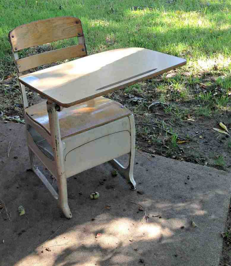 used school desks for sale home furniture design. Black Bedroom Furniture Sets. Home Design Ideas