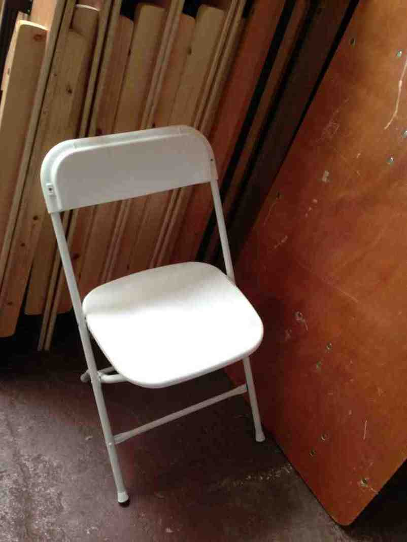 Used White Folding Chairs For Sale Home Furniture Design