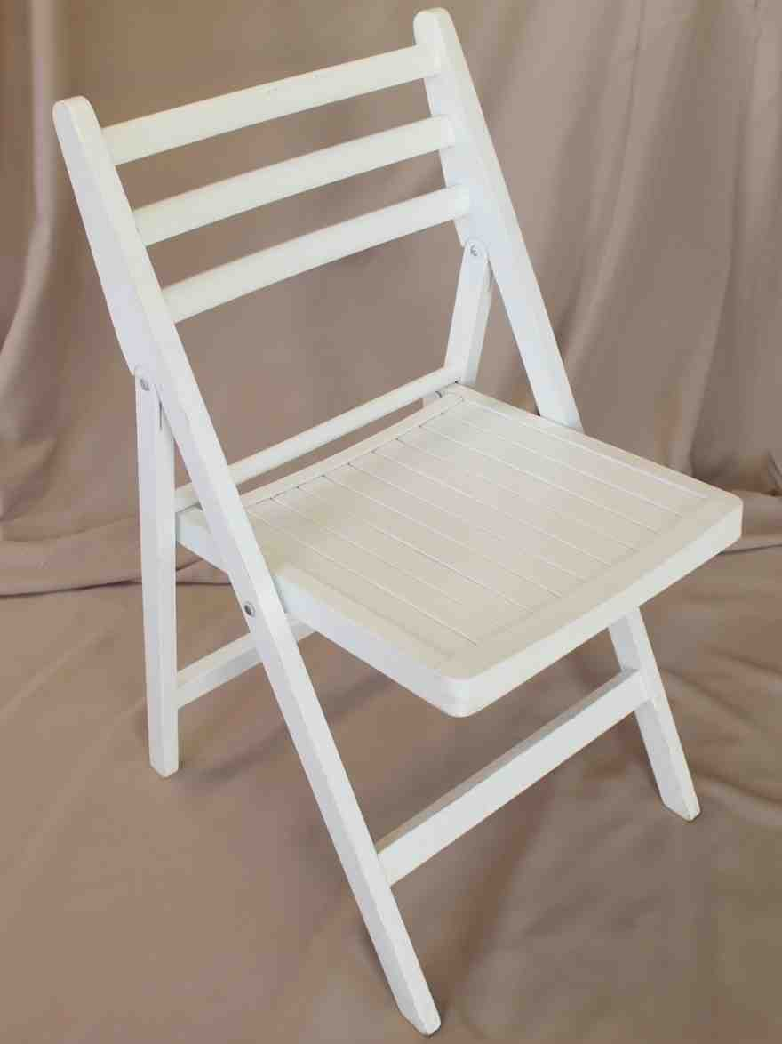 Foldable Wooden Chairs ~ White wooden folding chairs home furniture design