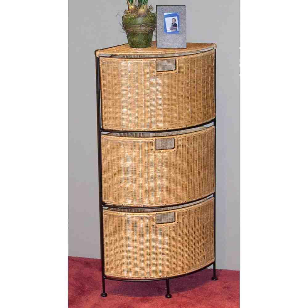 Wicker storage cabinets home furniture design