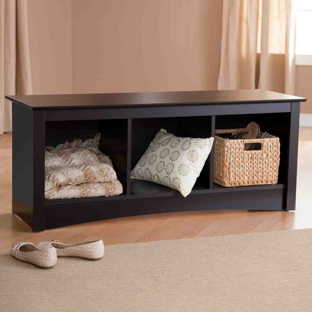 Wooden Storage Benches Indoor Home Furniture Design