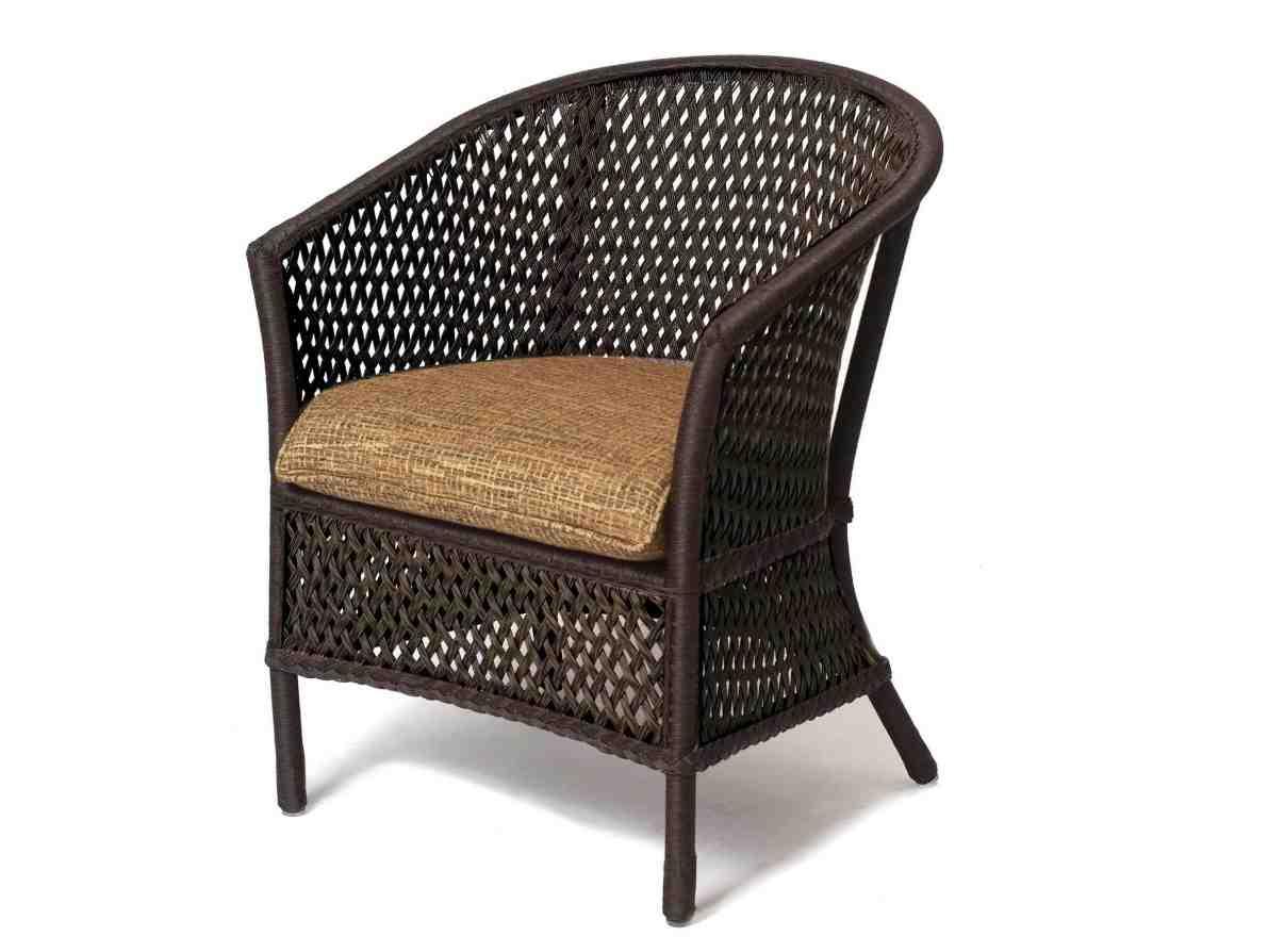 Lloydflanders Grand Traverse Wicker Cushion Patio Barrel