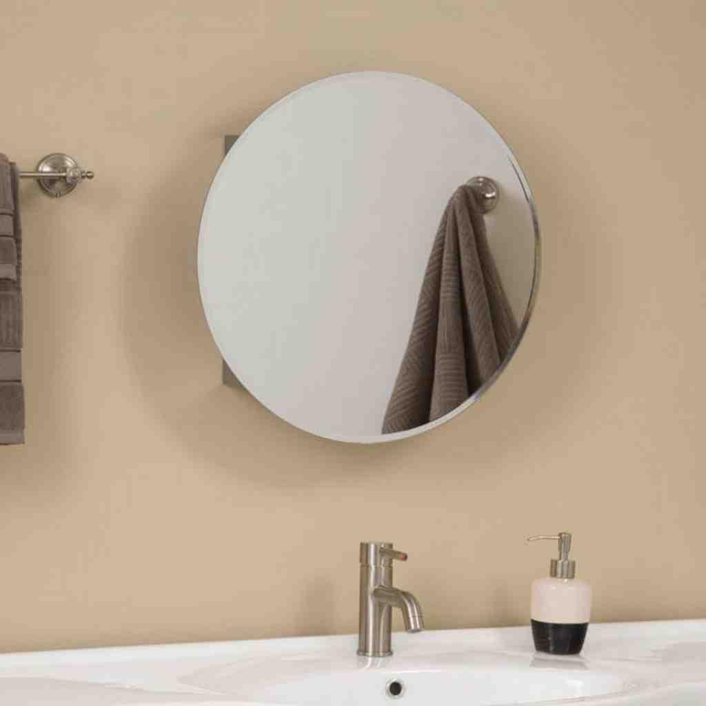 Bathroom Cabinet Mirror Replacement