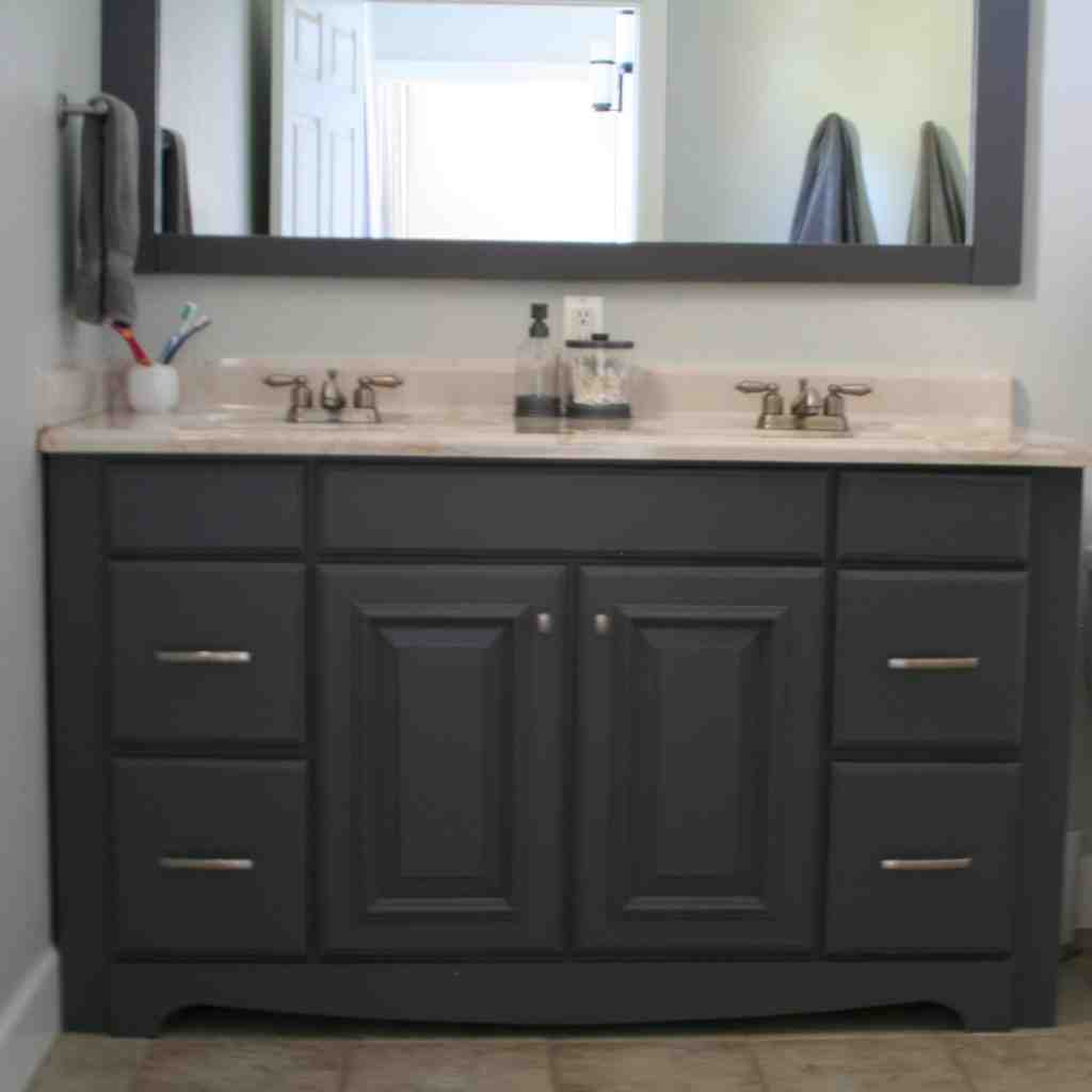 Best paint for bathroom cabinets home furniture design for Bathroom furniture cabinets