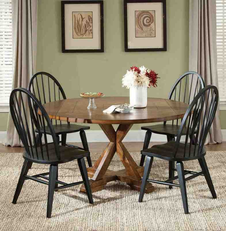 Black Windsor Dining Chairs Home Furniture Design