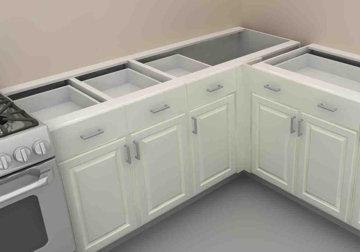 Blind Corner Base Cabinet - Home Furniture Design