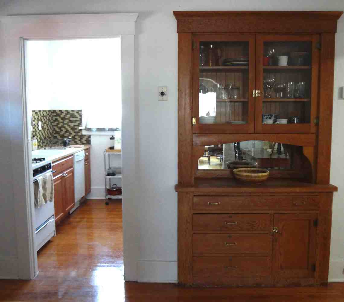 Built In China Cabinet Home Furniture Design