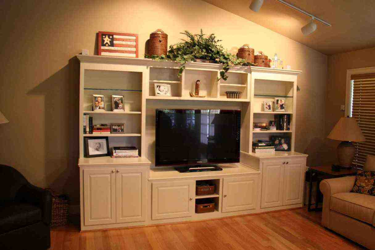 Built In Entertainment Center Cabinets Home Furniture Design