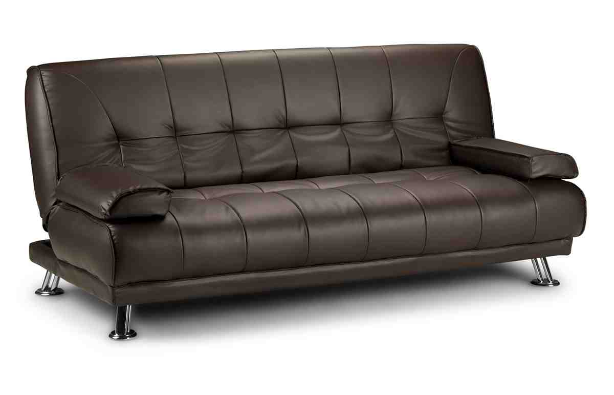 Real Leather Sofa Bed