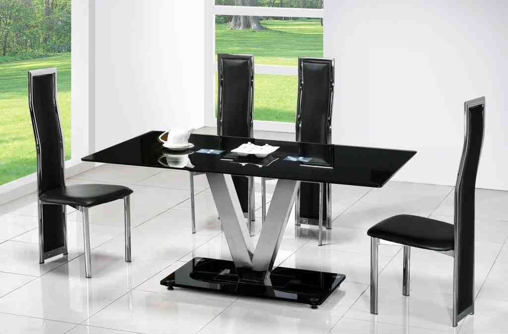 Contemporary Black Dining Chairs Home Furniture Design