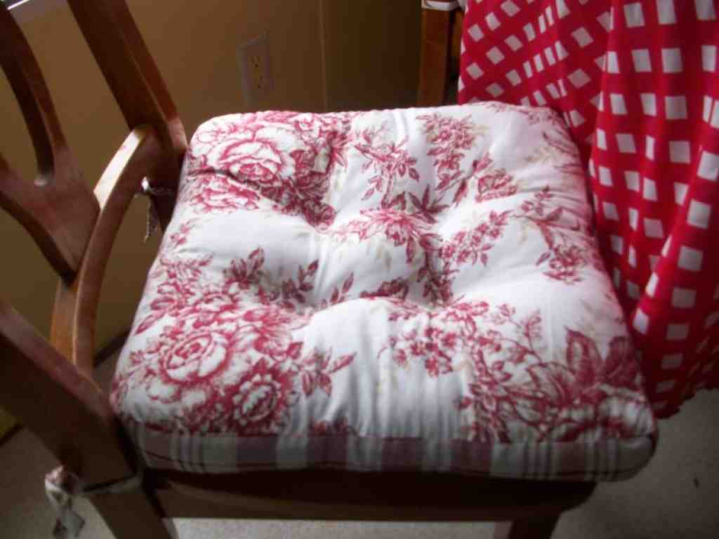 Kitchen Chair Seat Cushion Covers: Country Kitchen Chair Cushions