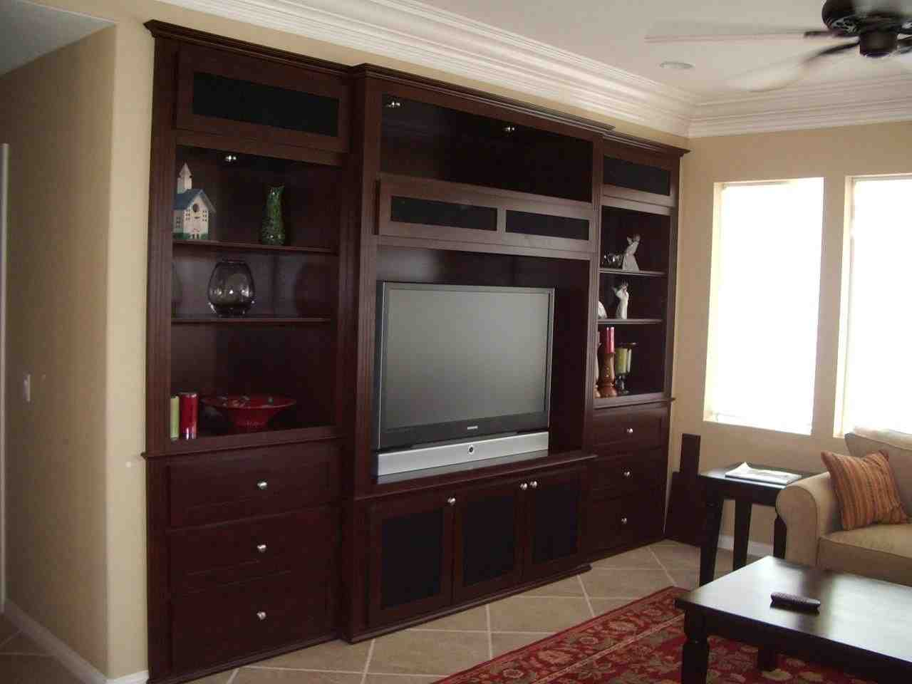 Custom Entertainment Cabinets Home Furniture Design