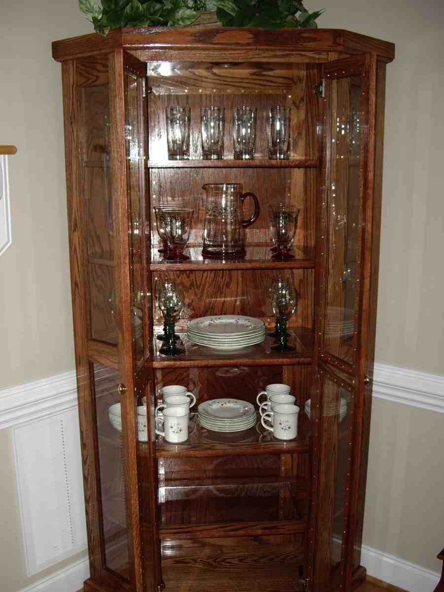 Decorating China Cabinet Home Furniture Design