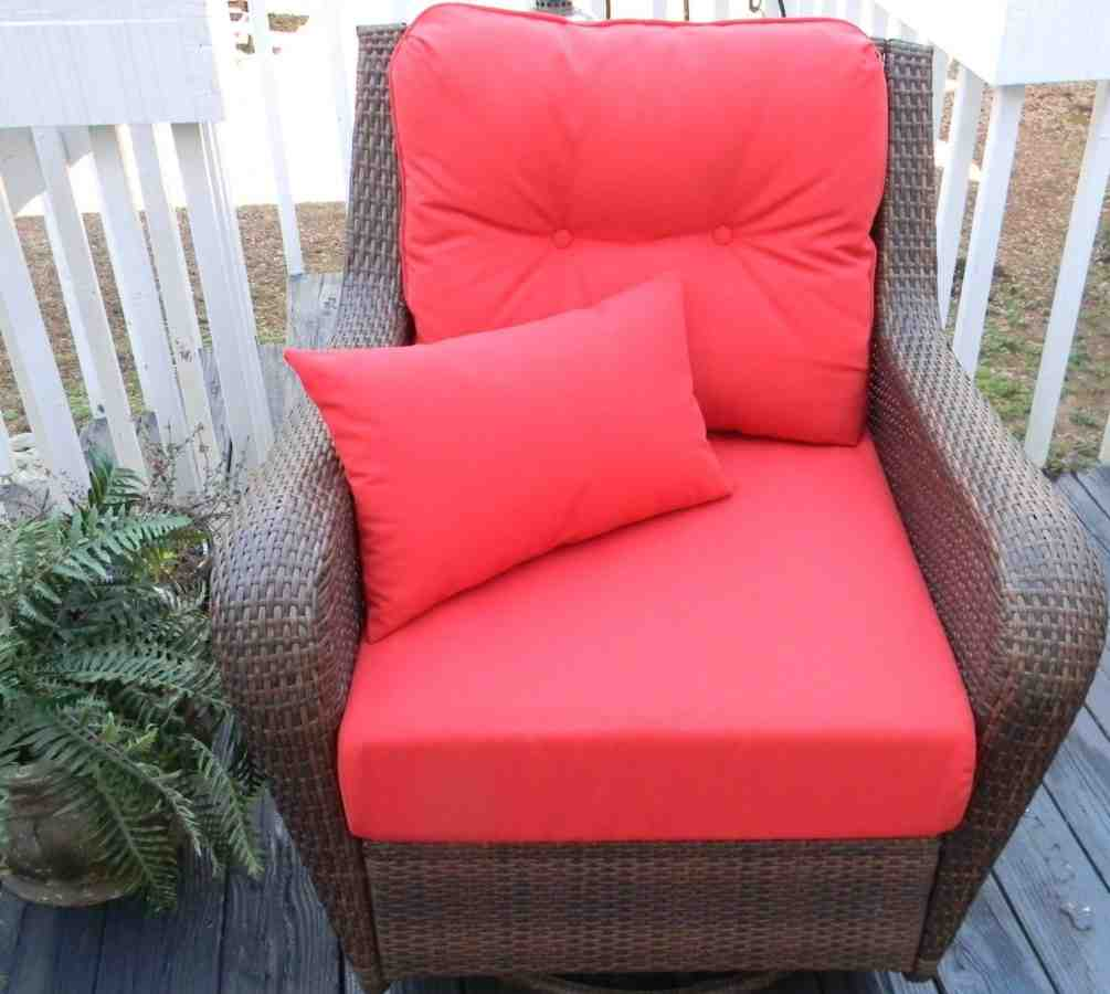 Deep seat patio chair cushions home furniture design for Garden furniture cushions