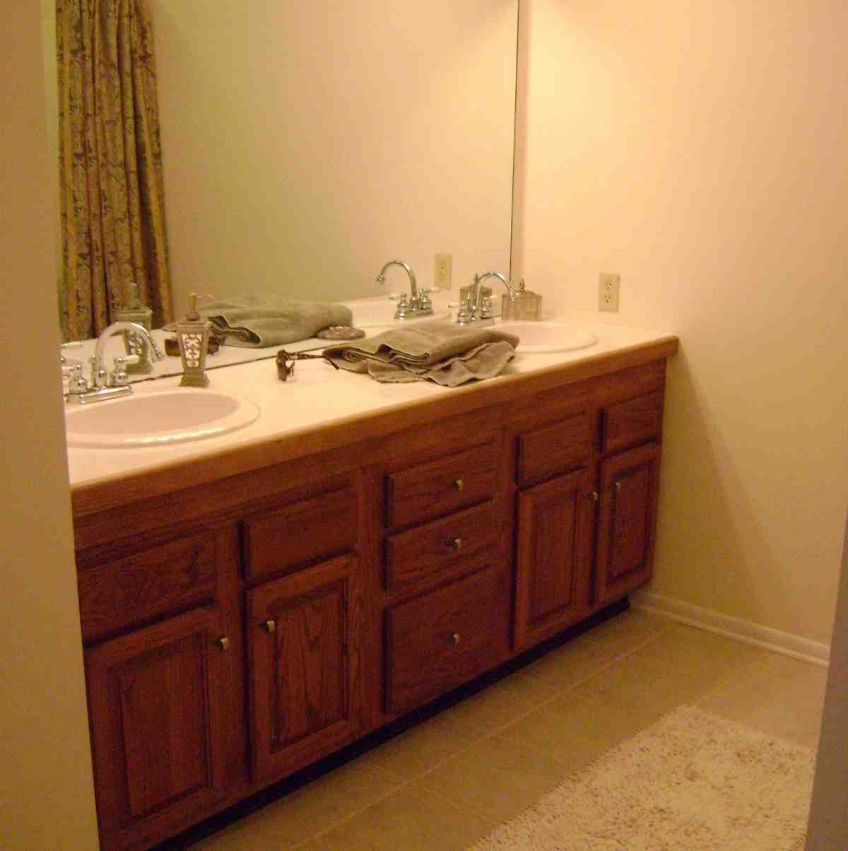 Diy Painting Bathroom Cabinets Home Furniture Design