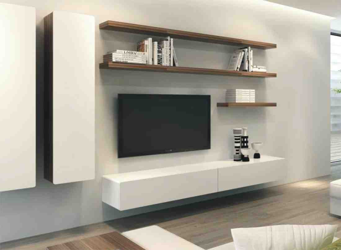 Floating entertainment cabinet home furniture design for Tv and media storage units