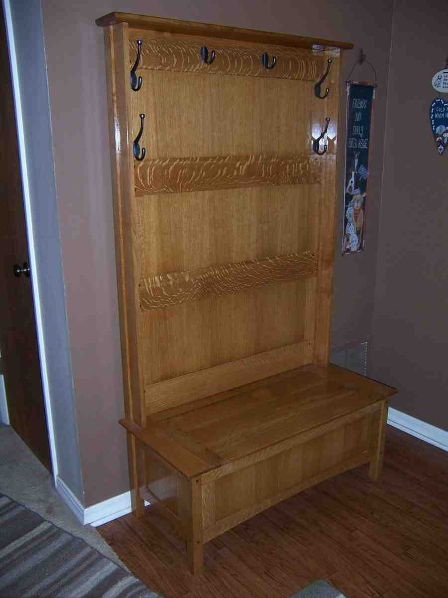 Hall Tree With Storage Bench Home Furniture Design