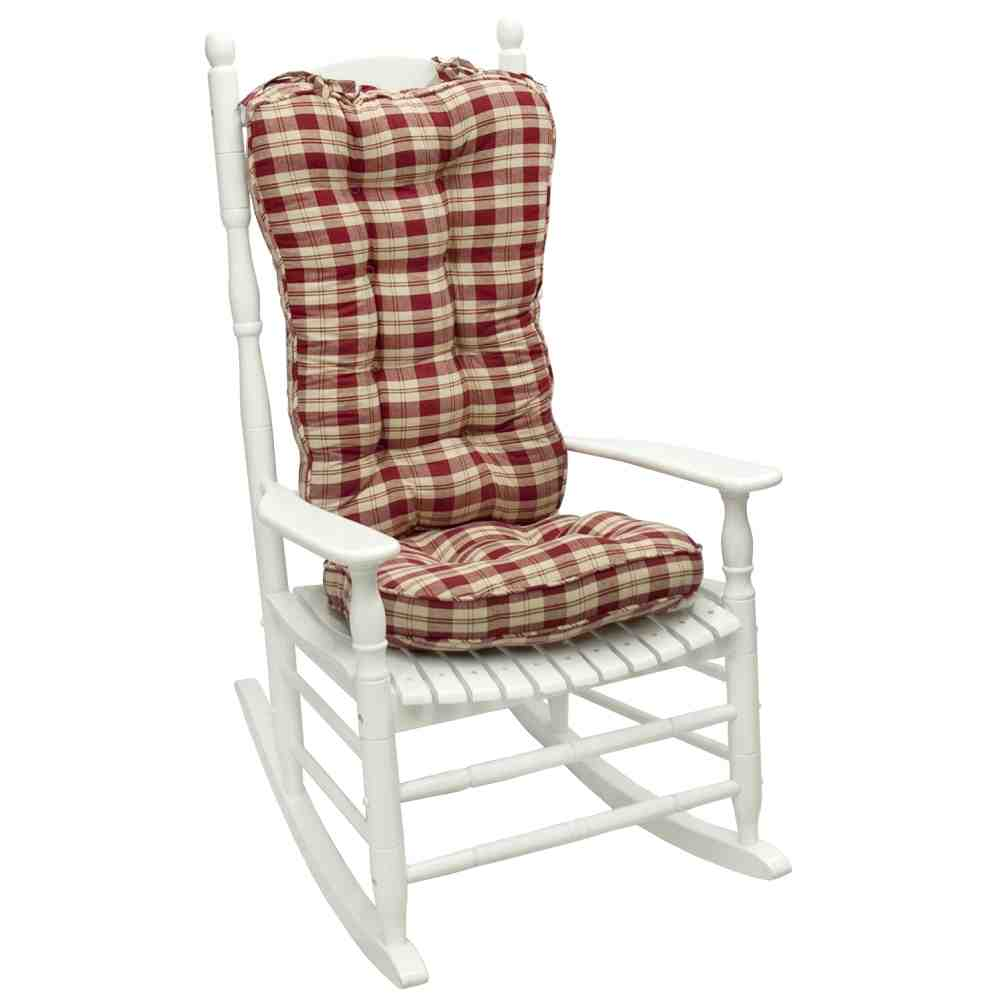 Jumbo Rocking Chair Cushion Sets